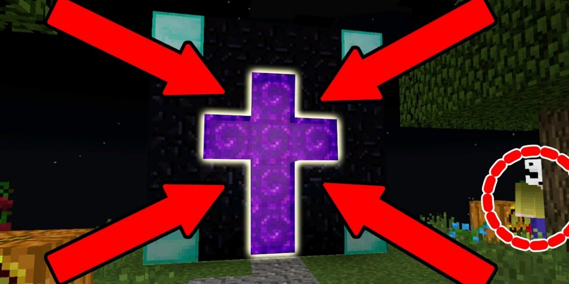 How many portals are in minecraft pe | Ender portals are there more
