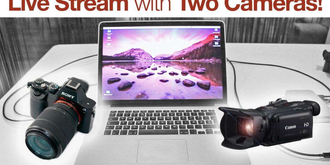 Live Stream With Two Cameras How To Blackmagic Ultrastudio Mini