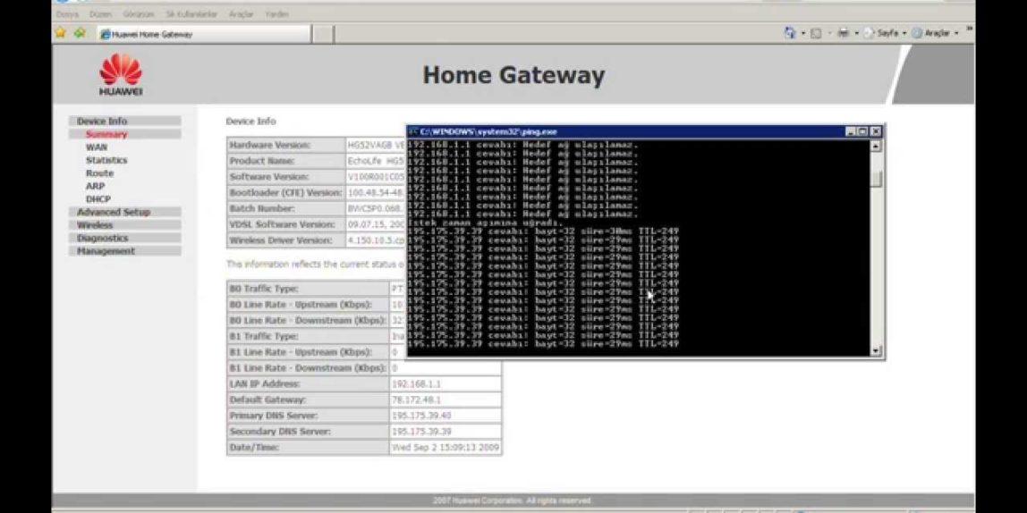 IPTV Configuration on Huawei Modem, Playing through VLC Player